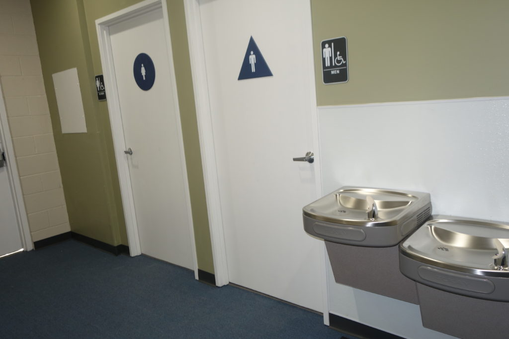 Restrooms / Water Fountain