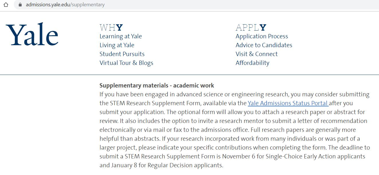 Research-YaleAdmission