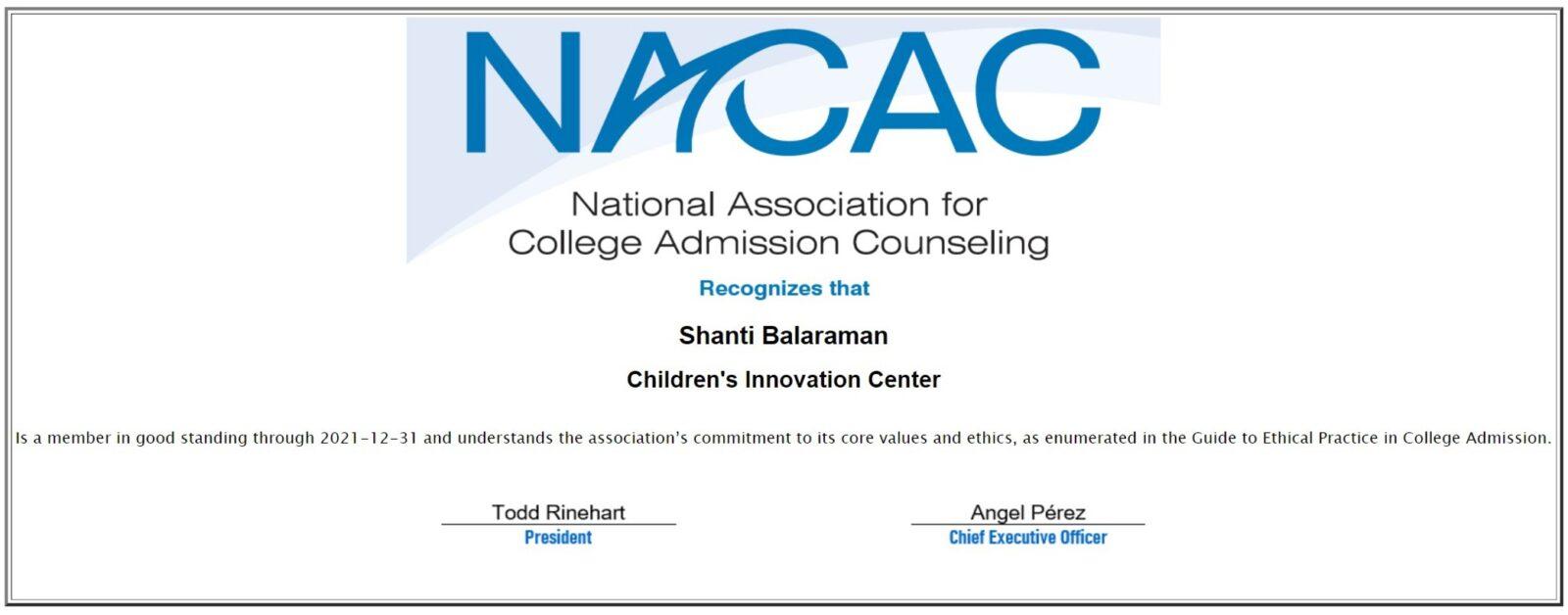 shanti-NACAC-2021