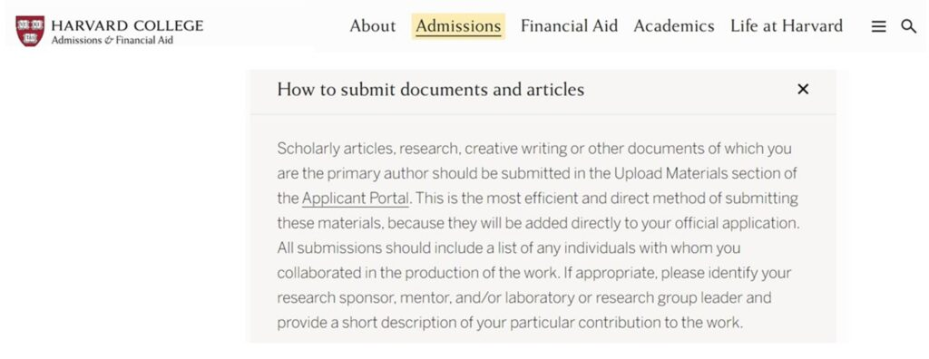 Harvard-Research-Supplementary